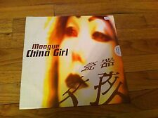 "MOOGUE China Girl 12"" single record Spain Import DJ Blanco Y Negro Record RARE"