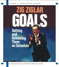 New 2 CD GOALS How to by  Zig Ziglar Nightingale Conant