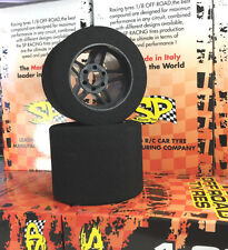 SP Racing 1/8 scale on road Rear Tires Foam Shore 35 Fits Kyosho Mugen Serpent