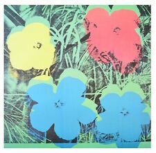 Andy Warhol Ten Foot Flowers Poster Kunstdruck Bild 80x80cm