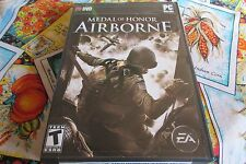 MEDAL OF HONOR; AIRBORNE PC GAME 1st PRESSING