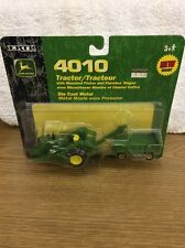 1/64 John Deere 4010 Tractor With Corn Picker And Wagon By Ertl