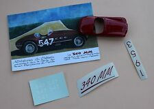NC'' Voiture Ferrari 340 MM 547 coq rouge collector 1/43 Heco Miniatures Château