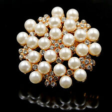 1 Pcs Pearl Crystal Flower Shoe Clip Buckle Wedding Bridal Accessories Removable