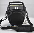 triangle Camera Bag Case For Nikon D90 D5100 D7000 D3100 D80 D60 D40 P500 D3200