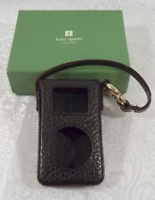 Kate Spade ipod mini black case - Gorgina with snap and handle