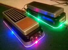 CRYBABY or VOX  WAH PEDAL LIGHT PLATE KIT. (Fits all jim dunlop/vox wah models)