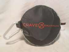 CRAVE CALVIN KLEIN unique foldable folding bag bagpack pack travel promo compact