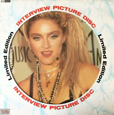 MADONNA - Limited Edition Interview (Picture Disc) (LP) (EX/VG+)