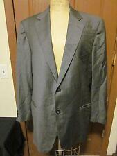 Ermenegildo Zegna Mens Blazer Sports Coat Jacket Zegna Trofeo Charcoal  Size:1
