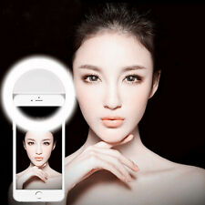 Portable LED Ring Flash Fill Light Selfie Clip Photo Camera For Cell Phone 2016