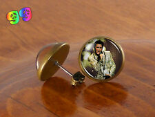 Elvis Presley Actor Musician Ear Stud Earrings Jewelry Art Gift Gifts