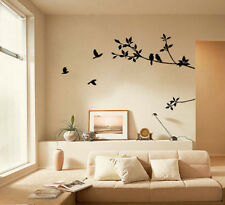 Bird Tree Design Home Removable Wall Sticker Mural Decal Vinyl DIY Art Decor