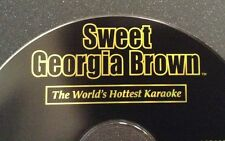 BRAND NEW Sweet Georgia Brown Karaoke CDG Disc SGB042 Hits of 2000