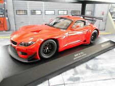BMW Z4 GT3 E89 GT Masters VLN 24h Plainbody rot red 2012 Minichamps 1:18