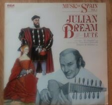 Julian Bream - Music Of Spain Vol. 1 - RCA Red Seal RL 13435 - UK 1980