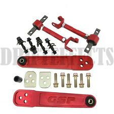 GODSPEED GEN2 02-05 CIVIC SI EP3 RED REAR LOWER CONTROL ARM + FRONT/REAR CAMBER