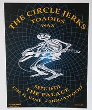 Circle Jerks - Rare USA Concertposter Signed M.Getz