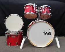Rare Taye Drums TourPro 5 Piece Shell Pack In A One Of A Kind Finish