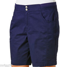 Ladies PLUS  size 26 RIB Waist SHORTS New BELLE CURVE Peacoat (blue) RRP$35