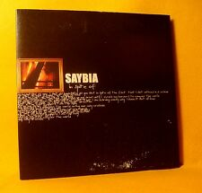 Cardsleeve Single CD SAYBIA In Spite Of PROMO 2TR 2002 soft rock