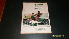 Advertising Italian Pubblicità: VICTOR PROFUMI **1961**