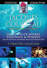 Jacques Couteau - Great White Sharks, Dolphins And Whales - Rediscover The...