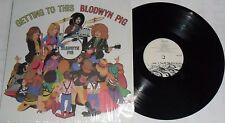 LP BLODWYN PIG Getting To This (Re) TAPESTRY Rec. TPT 155 - STILL SEALED