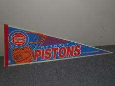 "Wincraft 90s Large 30""x12"" NBA Basketball Pennant Detroit Pistons Eastern Conf.."