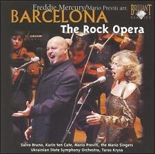 FREDDIE MERCURY: BARCELONA - THE ROCK OPERA USED - VERY GOOD CD