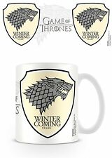 GAME OF THRONES STARK WINTER IS COMING MUG NEW BOXED 100 % OFFICIAL MERCHANDISE