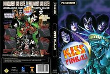KISS PINBALL PC TOP flipper!!! RARE FLIPPER Top con merce nuova manuale
