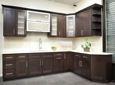 10' x 10' Java Shaker Kitchen Cabinets