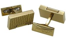 S.T. Dupont Lighter Cufflinks Gold Plated 005370OR