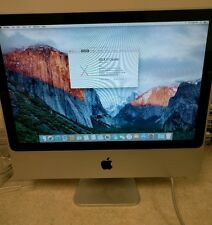 "Apple iMac 20"" 2.0GHz Intel Core 2 Duo 1GB Ram 250GB HD 10.11.3 El Capitan A1115"