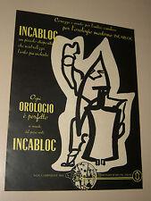 INCABLOC LE PORTE ECHAPPEMENT UNIVERSEL=ANNI '50=PUBBLICITA=ADVERTISING=283