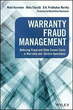 Wiley and SAS Business: Warranty Fraud Management by Ilkka Töyrylä, D. N....