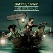KATZENJAMMER - A KISS BEFORE YOU GO-LIVE IN HAMBURG  CD + DVD NEU +++++++++++++