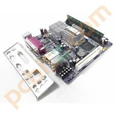 Foxconn 45cs MINI ITX Motherboard + Intel Atom 230 CPU 1.6ghz + 1gb RAM CON BP