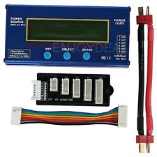 New Pro 60V 100A Watt Meter Battery Checker/Balancer and Servo Test Program
