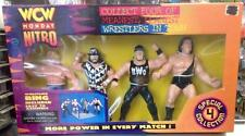 #3836 WCW Monday Nitro 4 Pack Action Figures with Ring Special Collection MIB