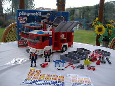 Playmobil Fire Engine with Flashing Lights (4821) Boxed