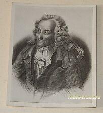 Ancienne Image VOLTAIRE François-Marie AROUET dit - Collection Hommes Célèbres