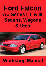 FORD FALCON AU WORKSHOP MANUAL: Series 1-3, 1998-2002