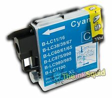 Compatible Cyan/Blue LC985 (LC39) Ink Cartridge for Brother DCP-J315W Printer
