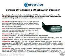 Plug-in Steering Wheel Electronic Cruise Control Kit Suzuki Swift Sport 1.6L