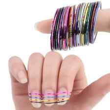 10pcs Rolls Striping Tape Line Nail Art Sticker Tools Beauty Decoration For Nail