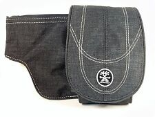 "NEW Crumpler ""The B.B"" (Medium) Belt Pouch for Gadgets (Dark Grey) - Brilliant!"