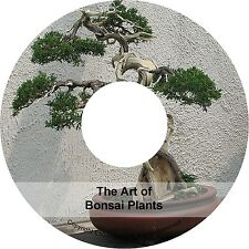 How To Grow Bonsai Growing & The Art of Bonsai Plants Tree Tips Books on CD