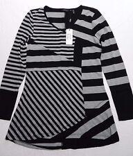 WOMENS striped SHIRT TOP BLOUSE = STERA = SIZE SMALL = (gz30)